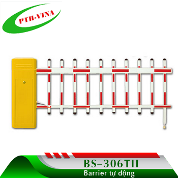 cổng barie tự động Baaisheng hàng rào
