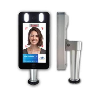 máy nhận diện khuôn mặt kết hợp cổng xoay tripod