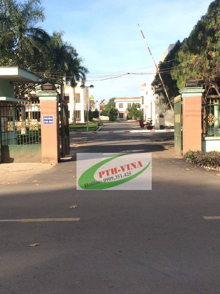 Lắp đặt barie tự động cổng ủy ban tỉnh Đồng Nai