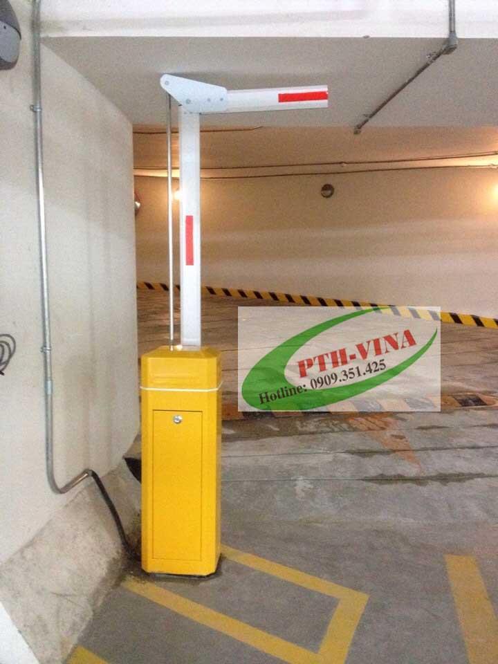 lắp barie điện tự động trong hầm giữ xe