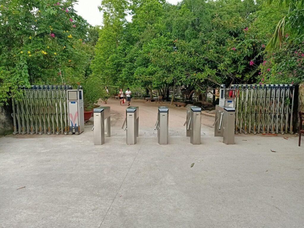 Cấu tạo cổng soát vé tự động khu du lịch đẹp